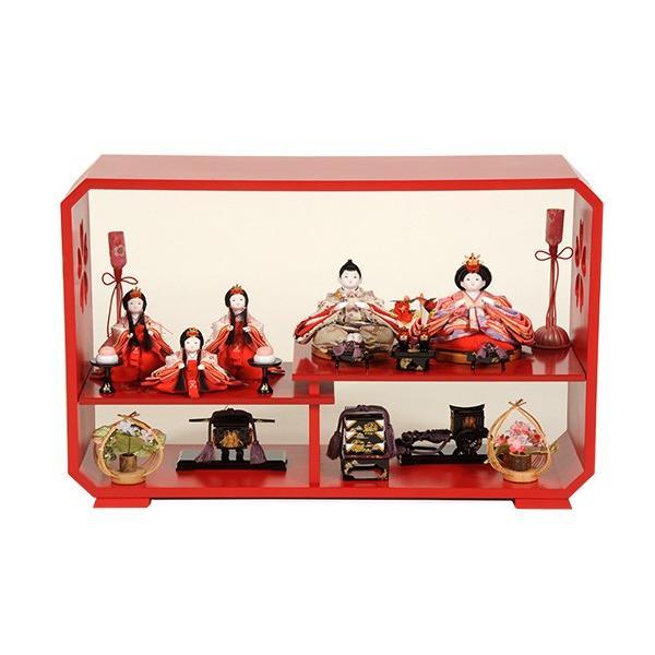 ふるさと納税 ひな人形 五人飾り 雛人形-記念、行事用品