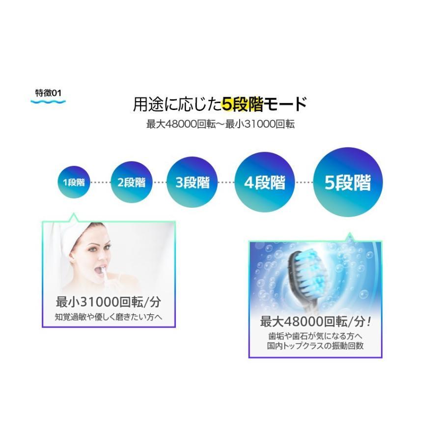 ReOra 旧アドワン 電動歯ブラシ UV除菌機能  ホワイトニング 音波歯ブラシ プレゼント 防水機能 ハブラシ 宅配便 |jirits|09