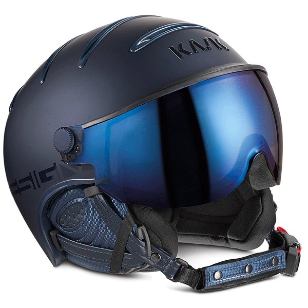 KASK カスク スキーヘルメット SHE00023 CLASS SHADOW 銀 mirror NAVY