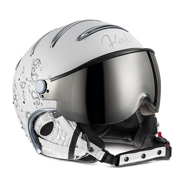 KASK カスク スキーヘルメット SHE00050 202 ELITE LADY CACHEMIRE 銀 MIRROR
