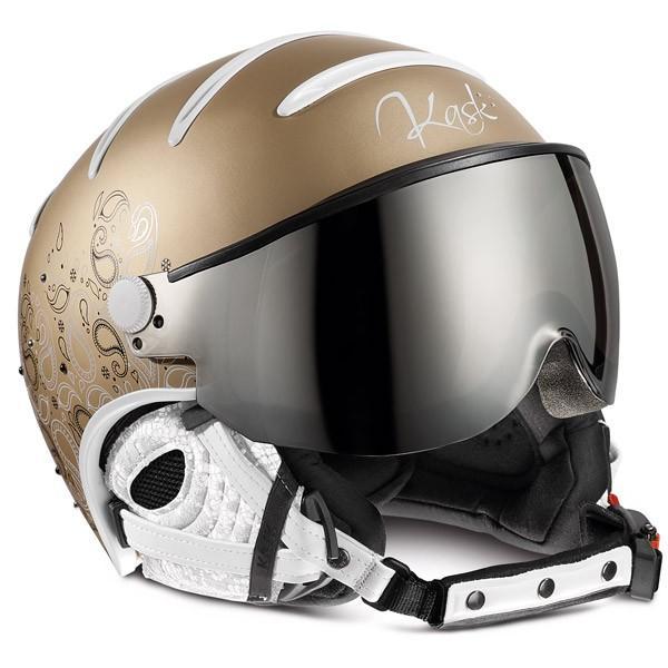 NEW 2019 KASK カスク スキーヘルメット SHE00050 ELITE LADY CACHEMIRE ゴールド ゴールド mirro r