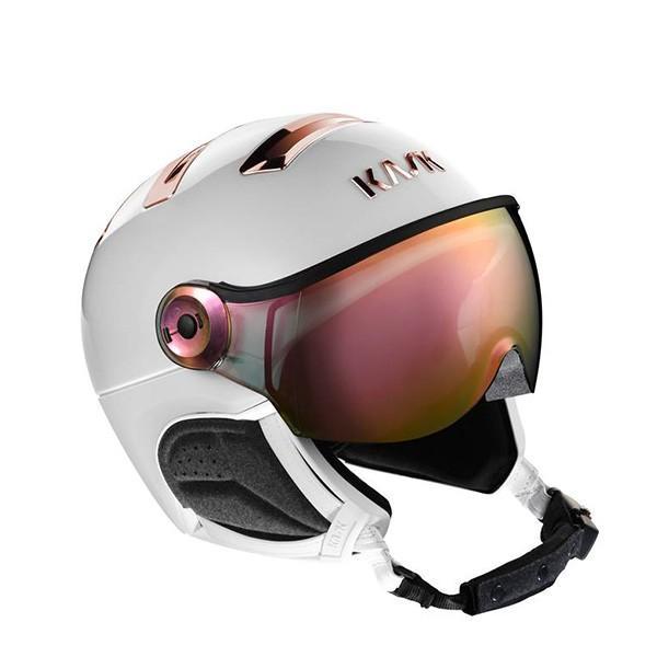 『3年保証』 NEW 2019 KASK NEW カスク スキーヘルメット mirror CHROME SHE00060 pink CHROME gold mirror 295 WHITE/PINK GOLD, 静岡市:41333758 --- airmodconsu.dominiotemporario.com