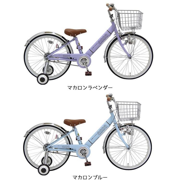 子供用自転車 完全組立 エッセ 20インチ 変速なし 補助輪付き BAA 女の子 小学生 Pro-vocatio モデル|jitensha-box|05