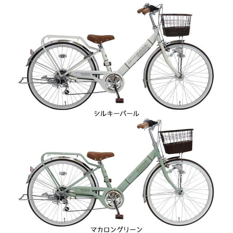 子供用自転車 完全組立 エッセFX 24インチ 6段変速 オートライト 両立スタンド 女の子 Pro-vocatio モデル jitensha-box 06