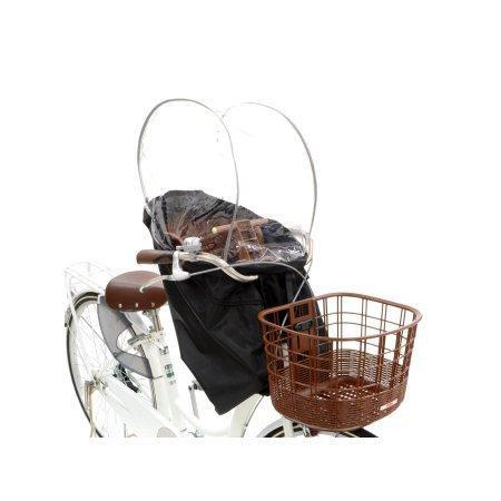 【自転車と同時購入専用】自転車 レインカバー チャイルドシート 前 RCF-003 雨よけ 風よけ 風防 jitensha-box 06