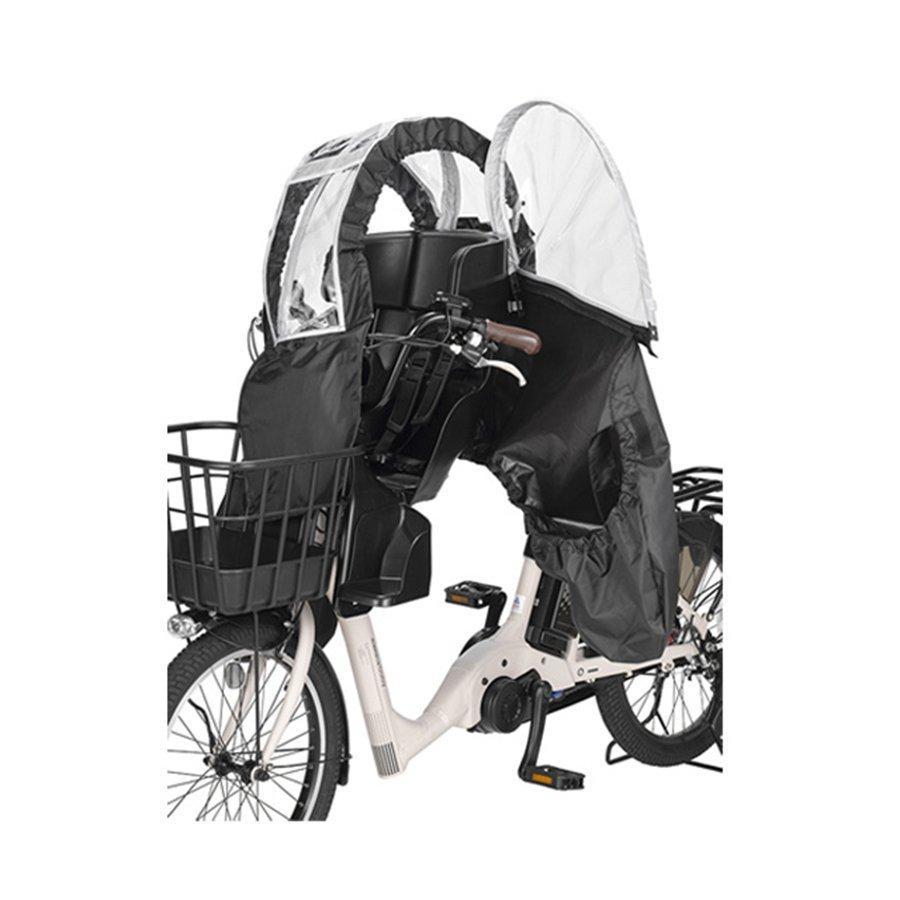 【自転車と同時購入専用】自転車 レインカバー ヘッドレスト付 チャイルドシート用 前 フロント OGK オージーケー RCF-008|jitensha-box|02