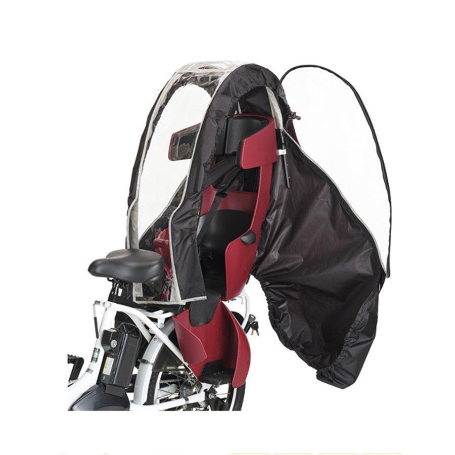 【自転車と同時購入専用】自転車 レインカバー ヘッドレスト付 チャイルドシート用 後ろ リア OGK オージーケー RCR-008|jitensha-box|02