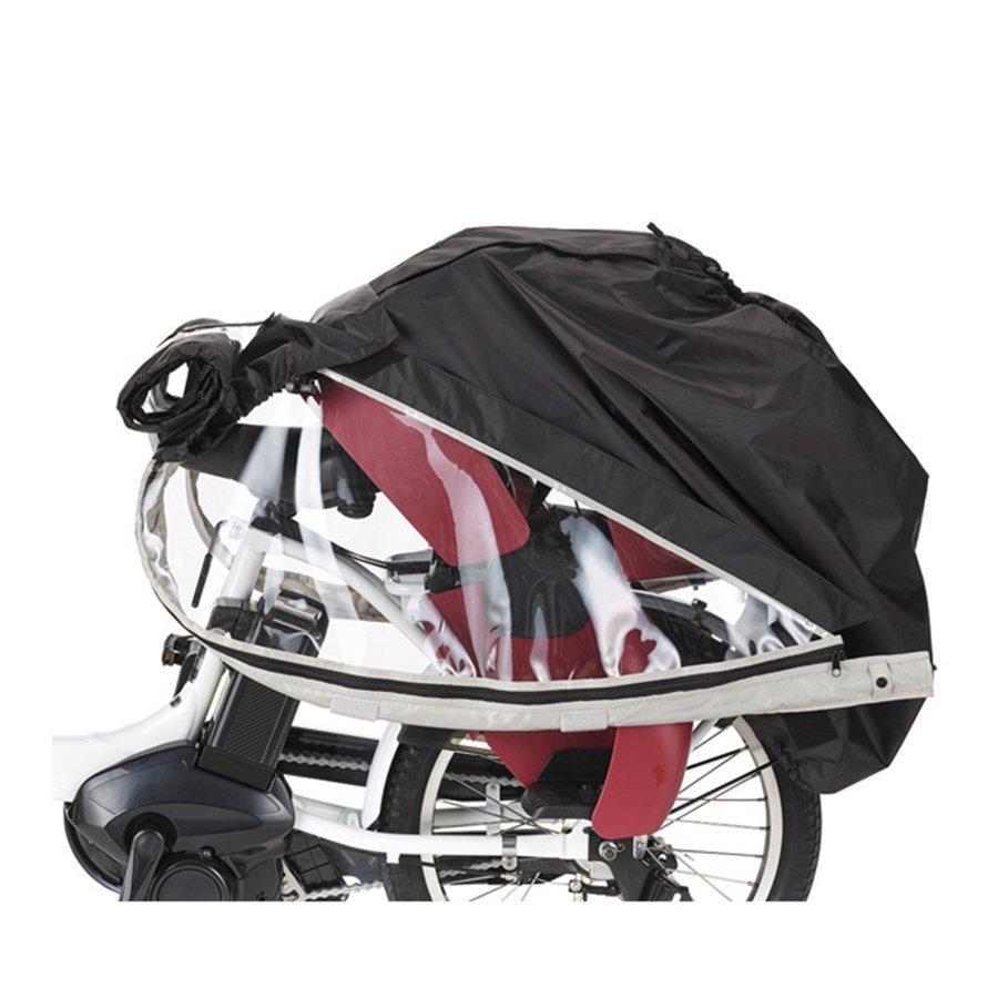 【自転車と同時購入専用】自転車 レインカバー ヘッドレスト付 チャイルドシート用 後ろ リア OGK オージーケー RCR-008|jitensha-box|05