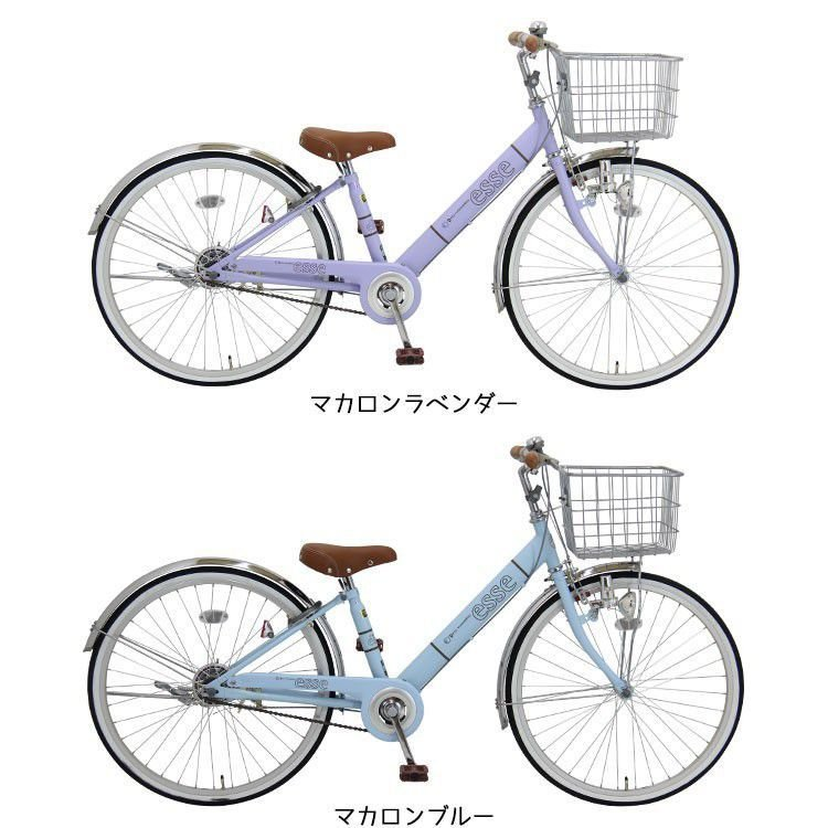 アウトレット 在庫限り 子供用自転車 完全組立 エッセ 24インチ 22インチ 20インチ 変速なし 女の子 男の子 小学生 Pro-vocatio モデル 012|jitensha-box|03