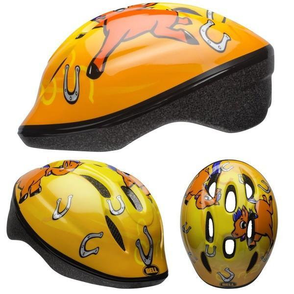 ((送料0円))BELL ZOOM2 ズーム2 イエローポニー ヘルメット/ ベル 自転車 子供用ヘルメット