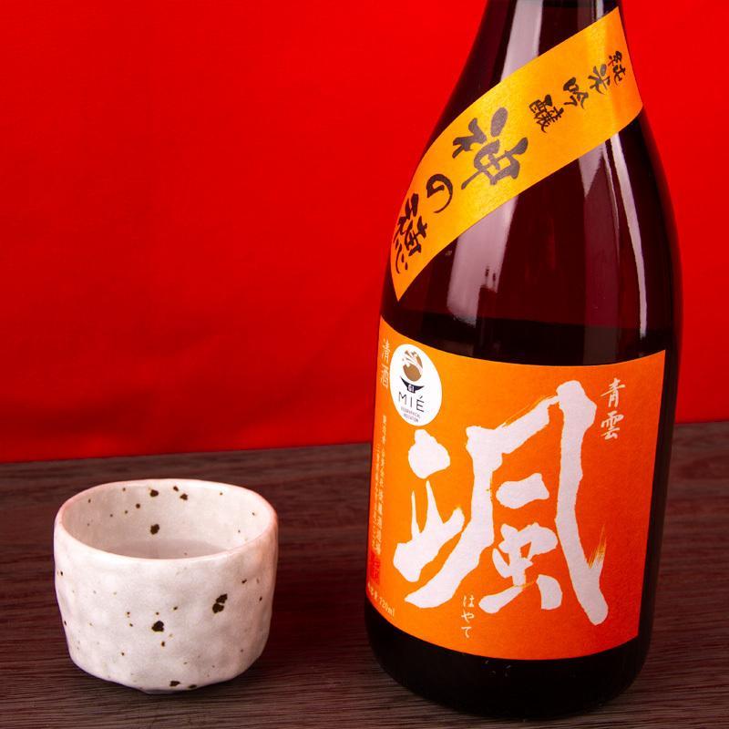 颯(はやて) 神の穂 純米吟醸 720ml 【後藤酒造場:三重県桑名】   地酒  日本酒|jizake-mie