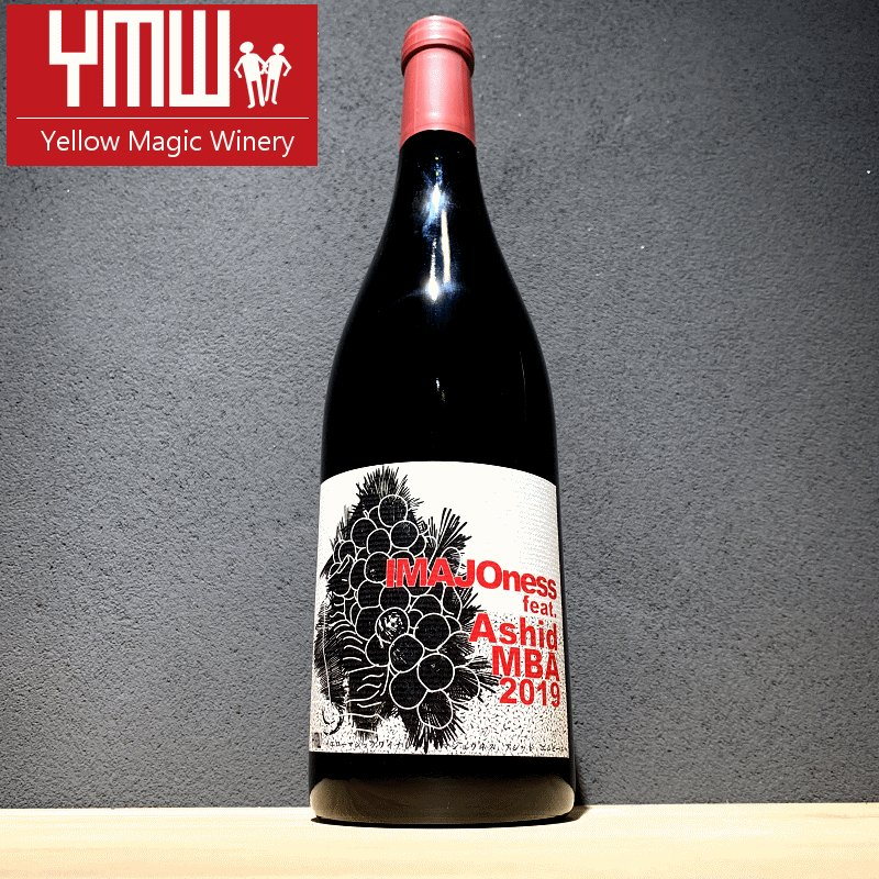 Yellow Magic Winery IMAJOness feat.Ashid MBA 2019  750ml 【Yellow magic winery:山形】【クール便指定】|jizake-mie|01