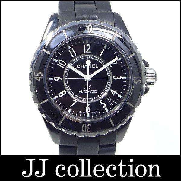 バーゲンで メンズ腕時計 J12 メンズ腕時計 Ref.H0684 ブラックセラミック×ラバー J12 38mm 自動巻き 38mm【】[iz], SAISEI:731cf386 --- airmodconsu.dominiotemporario.com