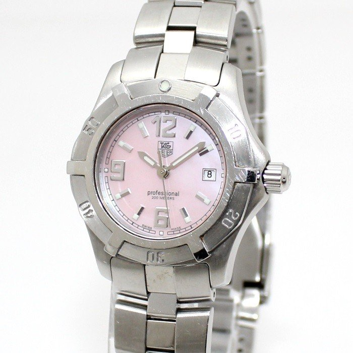 【税込】 【】タグホイヤー レディース腕時計 アクアレーサー エクスクルーシブ クオーツ SS ピンクシェル文字盤 WN1319, オリエントストア d6cdcf1a