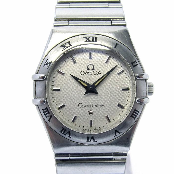 【一部予約販売】 OMEGA オメガ コンステレーション クオーツ オメガ SS レディース腕時計 文字盤ホワイト OMEGA クオーツ 1572.30【】[iw], テイネク:688b5c1f --- airmodconsu.dominiotemporario.com