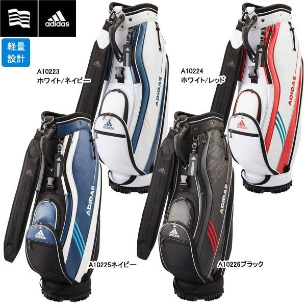 【17年SSモデル】 アディダス メンズ キャディバッグ6 AWR91 (Men's) adidas golf