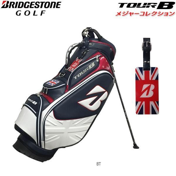 【先行予約】【18年モデル】【数量限定】ブリヂストンゴルフ TOUR B メジャーコレクション スタンドバッグ 全英オープンモデル CBG871 (Men's)
