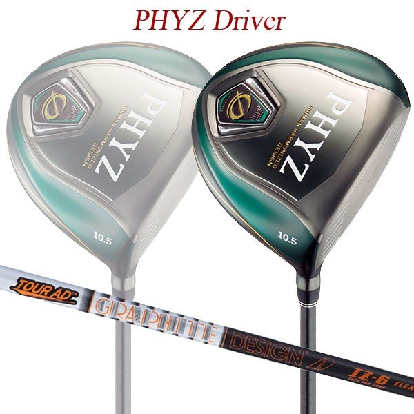 【特注】【19年モデル】 ブリヂストンゴルフ ファイズ ドライバー [ツアーAD IZ] カーボンシャフト BRIDGESTONE GOLF PHYZ DRIVER Tour AD
