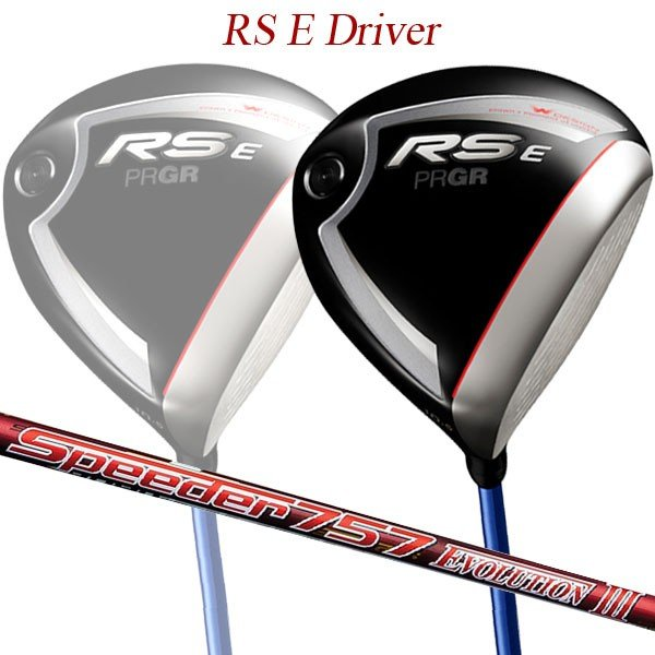 【特注】【19年モデル】 プロギア RS E ドライバー [スピーダー 757 EVOLUTION 3] PRGR レッド DRIVER Speeder