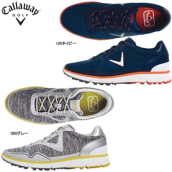 【19年継続モデル】キャロウェイ メンズ スパイクレス ゴルフシューズ 247-8983503 ソレイユ MN 18 (Men's) Callaway SOLAIRE MN18