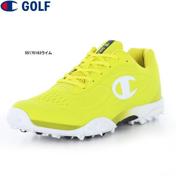 ♪【19年AWモデル】チャンピオン ゴルフシューズ CP GL016 (55170163ライム) Champion GOLF