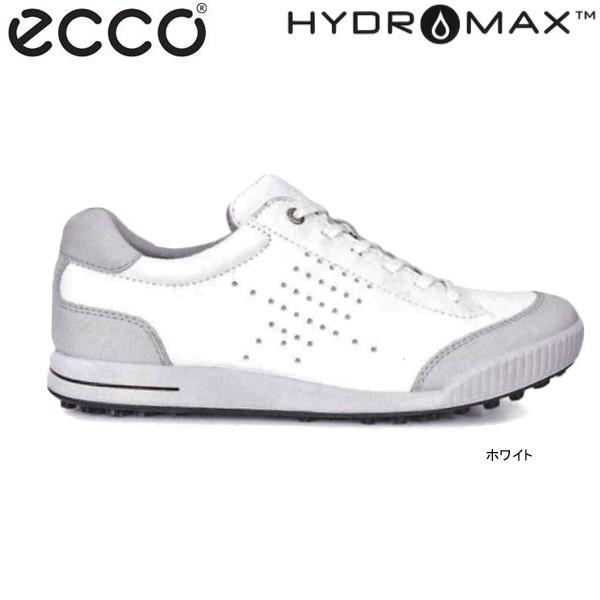 ♪【17年SSモデル】エコー メンズ ゴルフシューズ スパイクレス STREET RETRO 150604-54322 (ホワイト) (Men's) ecco