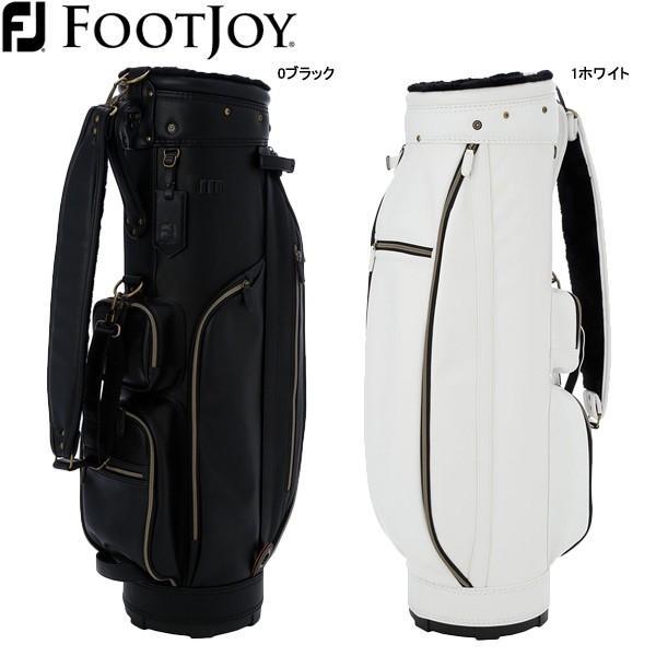 【19年モデル】フットジョイ メンズ/レディース FJ モノトーンシリーズ ゴルフキャディバッグ FB19CT1 (ユニセックス) FOOTJOY