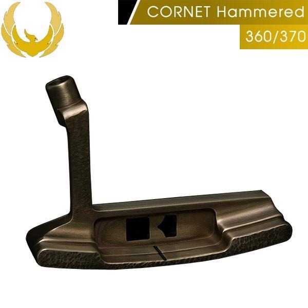 ♪【19年継続モデル】クロノスゴルフ コルネット ハマード 360/370 パター ブレード(ピン)型 KRONOS GOLF CORNET Hamme赤