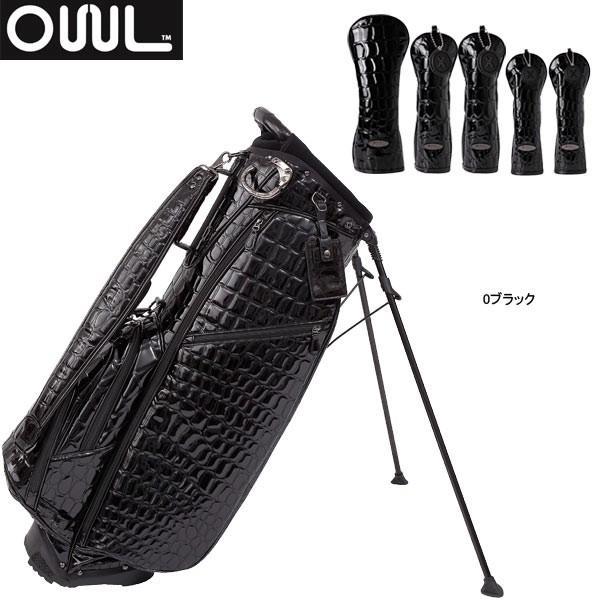 ♪【18年モデル】【数量限定】オウル メンズ アリゲーター スタンドキャディバッグ&ヘッドカバーセット AL8LTD (Men's) ALLIGATOR CART BAG OUUL