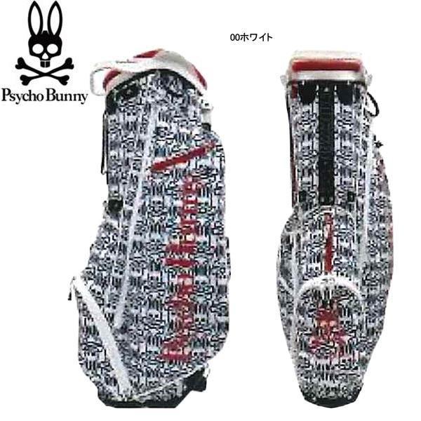 ♪【18年AWモデル】【数量限定】 サイコバニー メンズ PB モノグラムES スタンドキャディバッグ PBMG8FC3 (Men's) Psycho Bunny