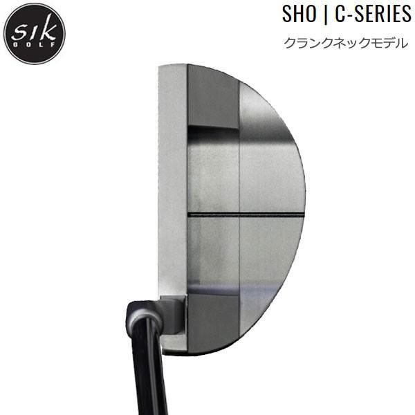 【18年モデル】シックゴルフ ショー Cシリーズ パター [クランクネック] SIK GOLF Sho C-Series