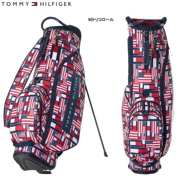 ♪【19年AWモデル】トミーヒルフィガー ゴルフ メンズ マルチフラッグ スタンドキャディバッグ THMG9FCZ (Men's) MULTI FLAG CADDIE BAG TOMMY HILFIGER GOLF