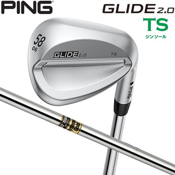 ♪【大特価】【19年継続モデル】 ピン グライド2.0 ウェッジ TS(シンソール) [DG S200] スチールシャフト PING GLIDE2.0 WEDGE