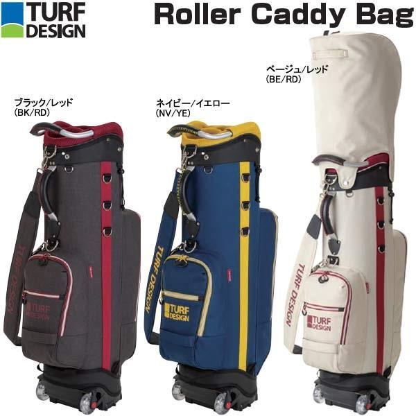 超高品質で人気の 【19年モデル】【数量限定】ターフデサイン メンズ ローラー キャディバッグ TDCB-1873 (Men's) TURF DESIGN Roller Caddy Bag, ROCK SHOP SOS-足利M.W CREAM SODA 0b79e5f4