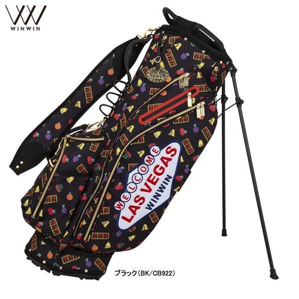 【19年モデル】ウィンウィン メンズ/レディース LAS VEGAS スタンドバッグ ゴールド Version CB-922 (UNISEX) WINWIN