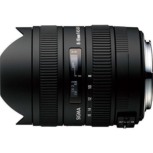 中古:SIGMA 超広角ズームレンズ 8-16mm F4.5-5.6 DC HSM キヤノン用 APS-C専用 203542