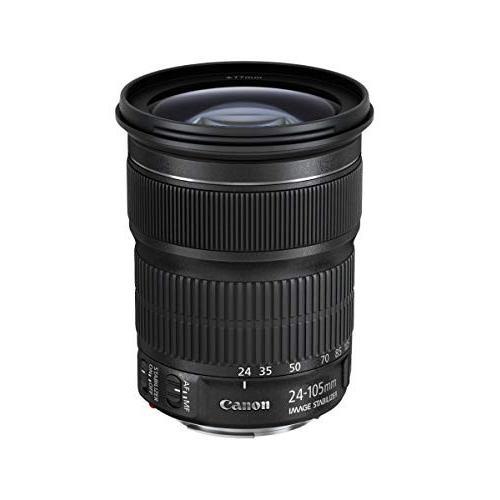 中古:Canon 標準ズームレンズ EF24-105mm F3.5-.5.6 IS STM フルサイズ対応 EF24-105ISSTM