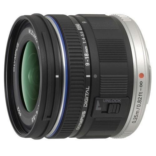 中古:OLYMPUS 超広角ズームレンズ M.ZUIKO DIGITAL ED 9-18mm F4.0-5.6