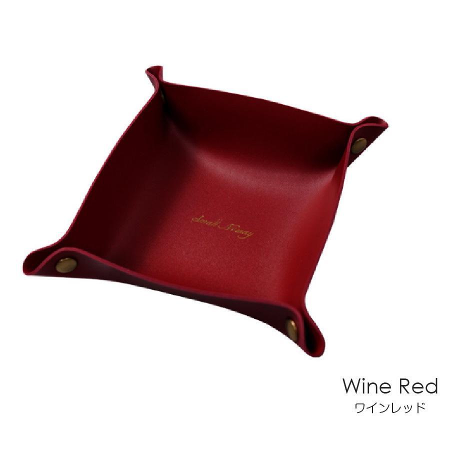 レザートレイ マルチトレー 16cm マスタード キャメル グレー グリーン 緑 ワインレッド 赤 グレージュ ミントグリーン ブラック 黒 ピンク JOCOSA 9007|jocosa|17