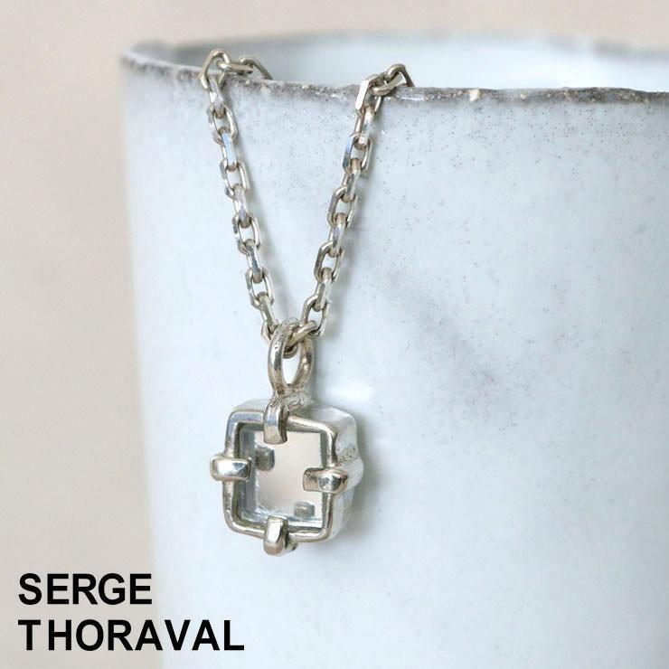 熱い販売 セルジュ トラヴァル SERGE THORAVAL Miroir 鏡 ネックレス シルバー ( P6 ), ミタマチョウ 7a8861b6