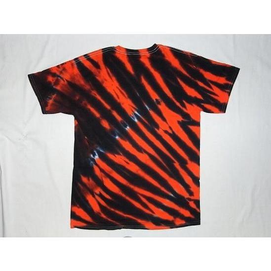 THRASHER スラッシャー MAGAZINEロゴ TIGER STRIPE タイガーストライプ タイダイ Tシャツ  jonnybeeameyoko 02