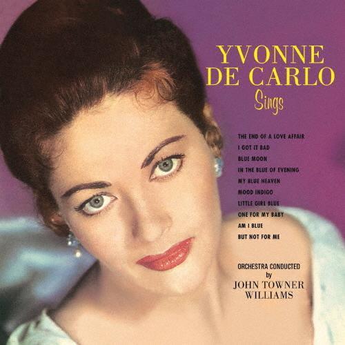 Sings Yvonne De 低価格 Carlo 返品種別A 紙ジャケット CD 記念日