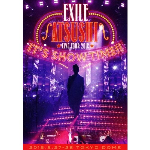 """枚数限定 EXILE ATSUSHI LIVE TOUR 2016""""IT#039;S TIME DVD 返品種別A 信託 SHOW 安全 quot;"""