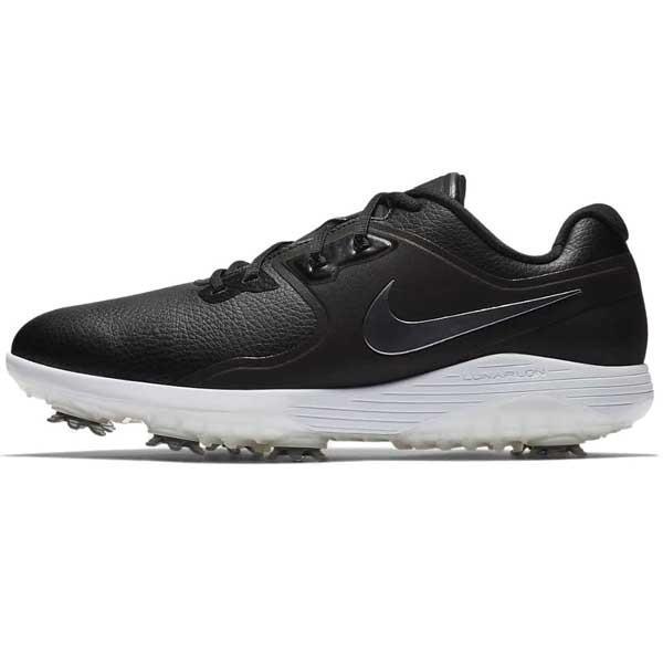 ナイキ メンズゴルフシューズ ヴェイパー プロ(ブラック/ ホワイト/ ボルト/ メタリッククールグレー・28.0cm) Nike AQ2196-001 NK18F AQ2196-001 280 返品種別A