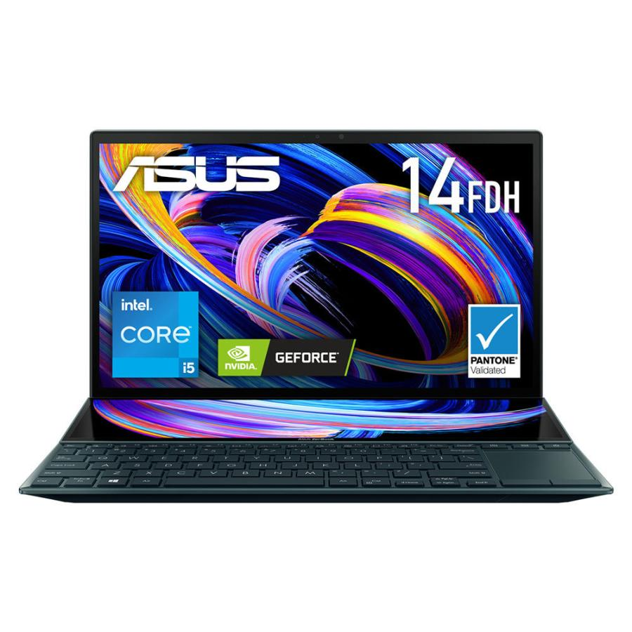 ASUS エイスース 14型 12.6型ノートパソコン WEB限定 ZenBook アウトレットセール 特集 Duo セレスティアルブルー 返品種別A UX482EG-KA146T 14