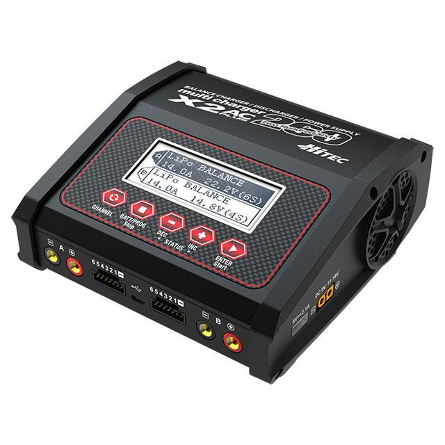 ハイテックマルチプレックスジャパン マルチチャージャー X2 ACプラス 即納最大半額 返品種別B 低価格化 44300 ラジコン用充電器 260