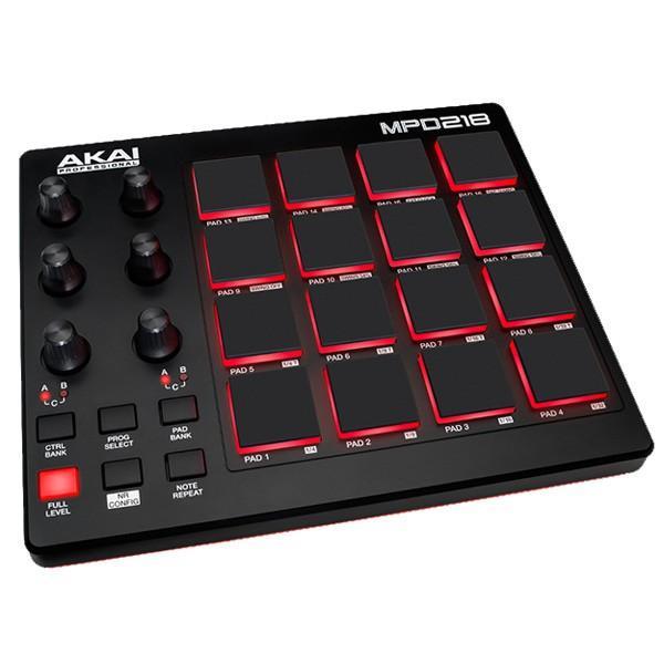 割り引き アカイ USB-MIDIコントローラー AKAI MPD218 2020モデル 返品種別A AP-CON-032