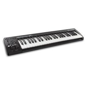 エムオーディオ 49鍵MIDIキーボード コントローラ M-AUDIO 新作続 Keystation 入荷予定 返品種別A 49 MK3 MA-CON-032