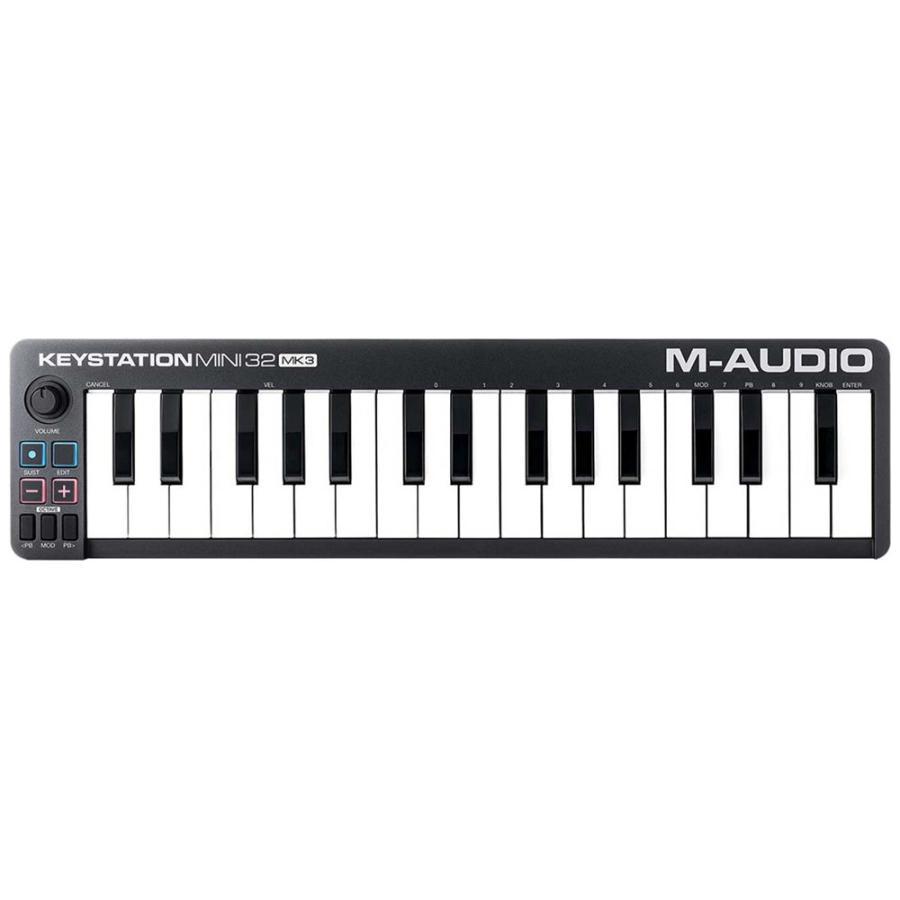 エムオーディオ 32鍵ポータブル キーボード コントローラ 2020 開催中 新作 M-AUDIO Keystation 32 返品種別A MA-CON-034 Mini III