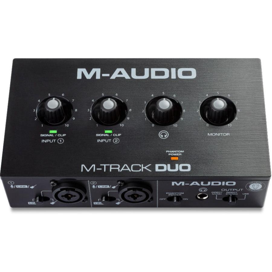 エムオーディオ USBオーディオインターフェース M-Audio 期間限定送料無料 M-Track 返品種別A 数量限定アウトレット最安価格 Duo M-TRACKDUO